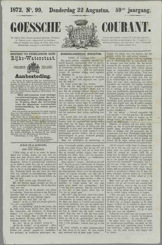 Goessche Courant 1872-08-22