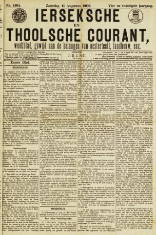 Ierseksche en Thoolsche Courant 1906-08-11