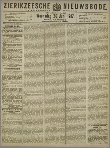 Zierikzeesche Nieuwsbode 1917-06-20