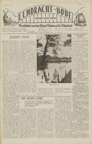 Eendrachtbode (1945-heden)/Mededeelingenblad voor het eiland Tholen (1944/45) 1949-04-15