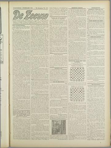 De Zeeuw. Christelijk-historisch nieuwsblad voor Zeeland 1944-02-02