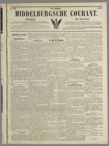 Middelburgsche Courant 1908-10-20