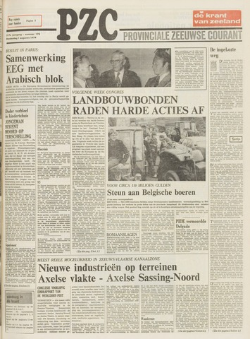 Provinciale Zeeuwse Courant 1974-08-01