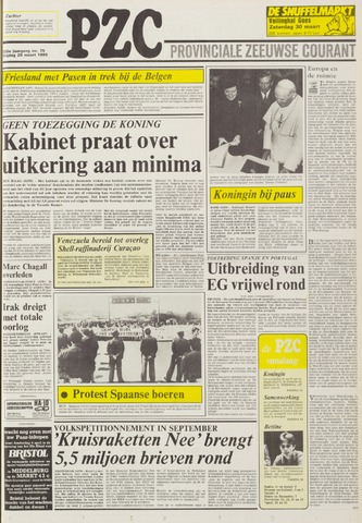 Provinciale Zeeuwse Courant 1985-03-29