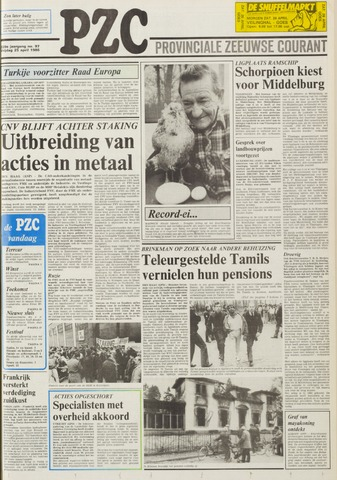 Provinciale Zeeuwse Courant 1986-04-25