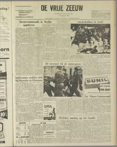 de Vrije Zeeuw 1962-08-23