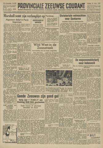 Provinciale Zeeuwse Courant 1948-09-24