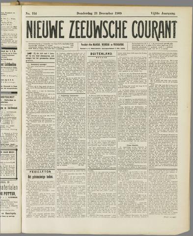 Nieuwe Zeeuwsche Courant 1909-12-23