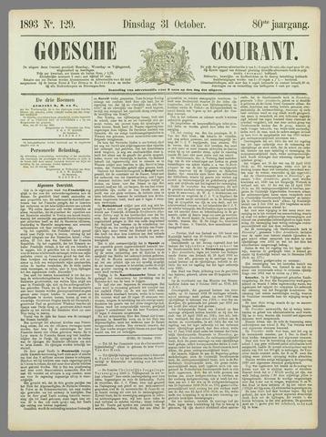 Goessche Courant 1893-10-31