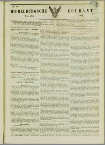 Middelburgsche Courant 1847-07-01