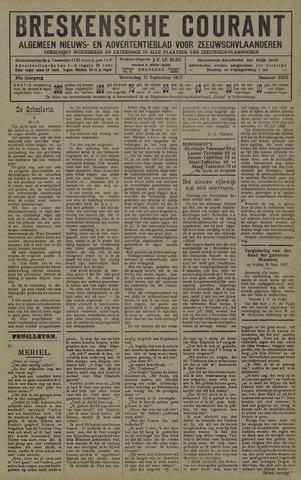 Breskensche Courant 1927-09-21