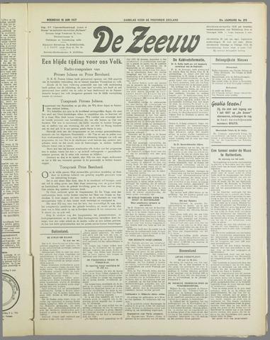 De Zeeuw. Christelijk-historisch nieuwsblad voor Zeeland 1937-06-16