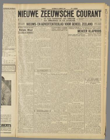 Nieuwe Zeeuwsche Courant 1934-01-20