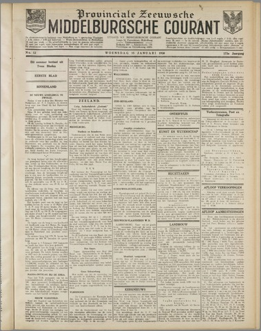Middelburgsche Courant 1930-01-15