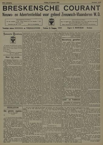 Breskensche Courant 1939-01-27