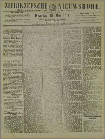 Zierikzeesche Nieuwsbode 1911-05-15