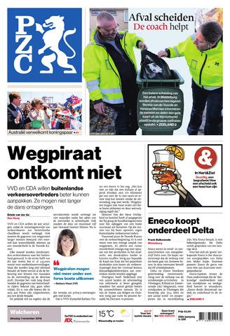 Provinciale Zeeuwse Courant 2016-11-01