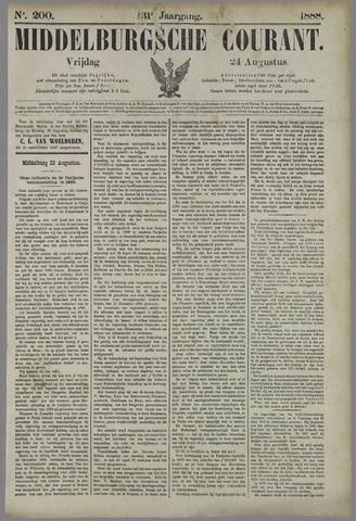 Middelburgsche Courant 1888-08-24