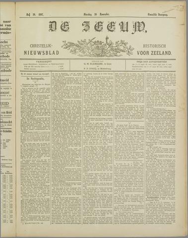 De Zeeuw. Christelijk-historisch nieuwsblad voor Zeeland 1897-11-30