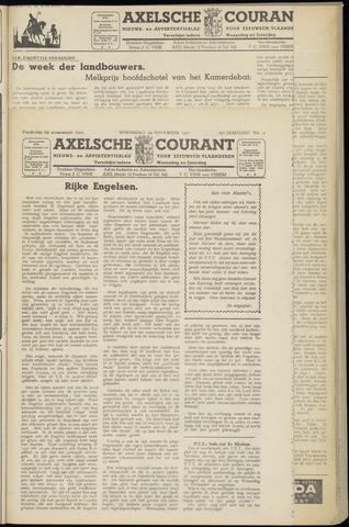 Axelsche Courant 1950-11-29