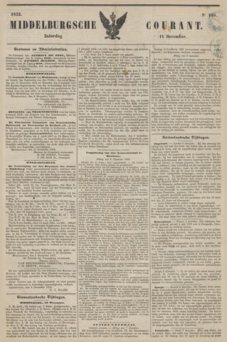 Middelburgsche Courant 1852-12-11