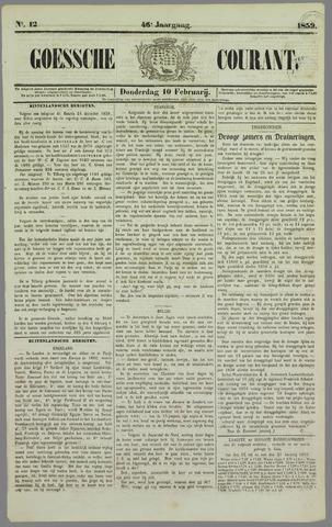 Goessche Courant 1859-02-10