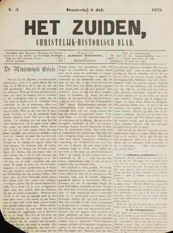 Het Zuiden, Christelijk-historisch blad 1876-07-06