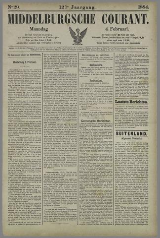 Middelburgsche Courant 1884-02-04