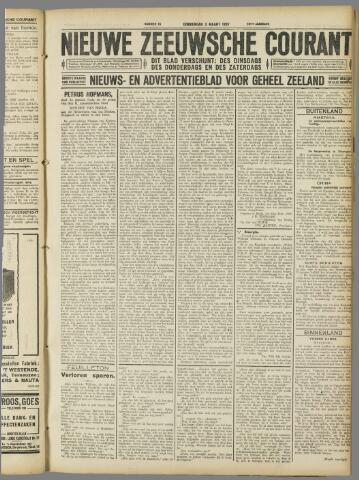 Nieuwe Zeeuwsche Courant 1927-03-03
