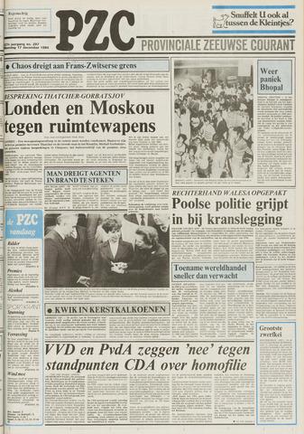 Provinciale Zeeuwse Courant 1984-12-17