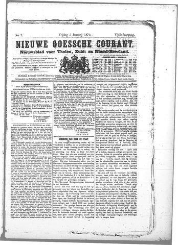 Nieuwe Goessche Courant 1870-01-07