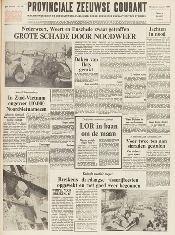 Provinciale Zeeuwse Courant 1966-08-15