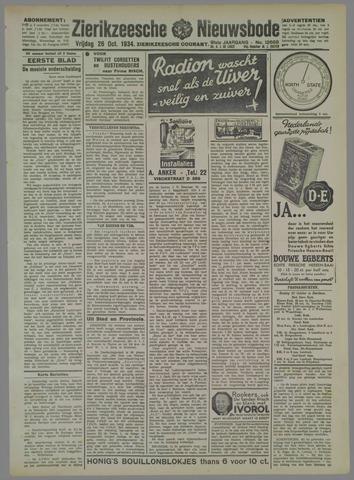 Zierikzeesche Nieuwsbode 1934-10-26