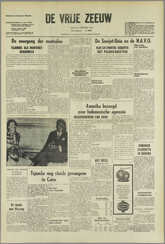 de Vrije Zeeuw 1964-10-09
