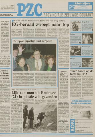 Provinciale Zeeuwse Courant 1991-12-03
