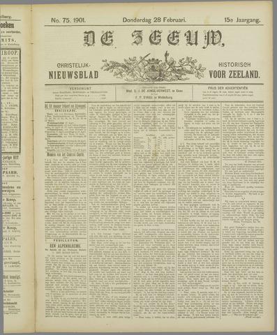 De Zeeuw. Christelijk-historisch nieuwsblad voor Zeeland 1901-02-28