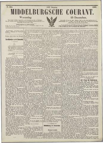 Middelburgsche Courant 1901-12-25