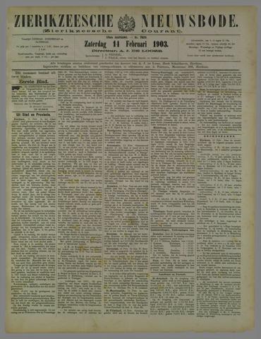 Zierikzeesche Nieuwsbode 1903-02-14