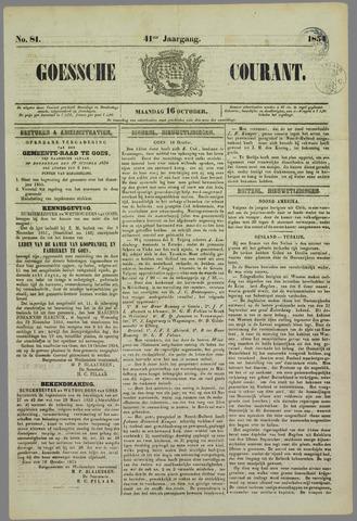 Goessche Courant 1854-10-16