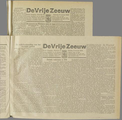 de Vrije Zeeuw 1945-01-09