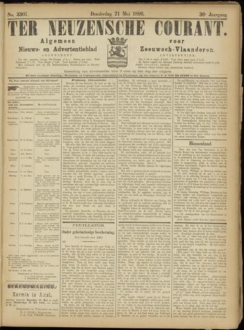 Ter Neuzensche Courant. Algemeen Nieuws- en Advertentieblad voor Zeeuwsch-Vlaanderen / Neuzensche Courant ... (idem) / (Algemeen) nieuws en advertentieblad voor Zeeuwsch-Vlaanderen 1896-05-21