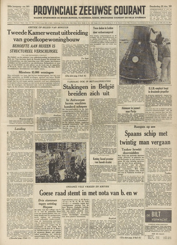 Provinciale Zeeuwse Courant 1960-12-22