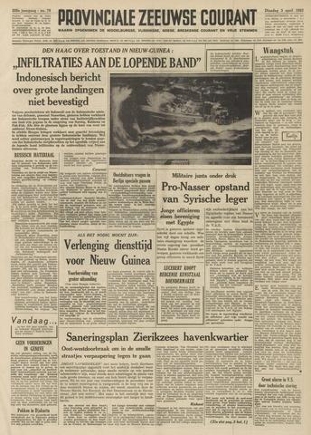 Provinciale Zeeuwse Courant 1962-04-03