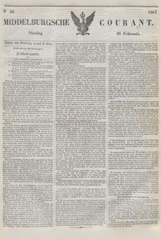 Middelburgsche Courant 1867-02-26