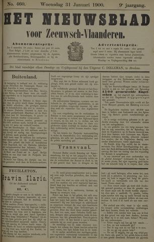 Nieuwsblad voor Zeeuwsch-Vlaanderen 1900-01-31