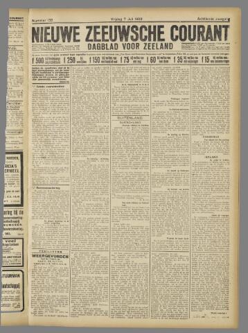 Nieuwe Zeeuwsche Courant 1922-07-07