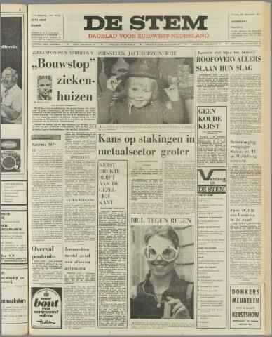 de Stem 1971-12-24