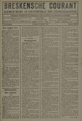 Breskensche Courant 1919-02-22