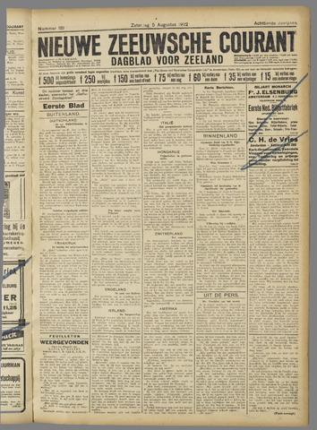 Nieuwe Zeeuwsche Courant 1922-08-05