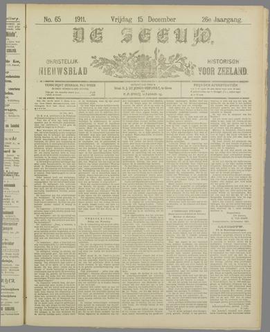 De Zeeuw. Christelijk-historisch nieuwsblad voor Zeeland 1911-12-15